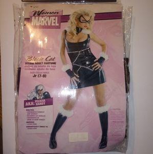 Marvel Black Cat Women's Adult Costume jr 7-9
